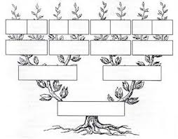 Árbol genealógico en blanco para imprimir