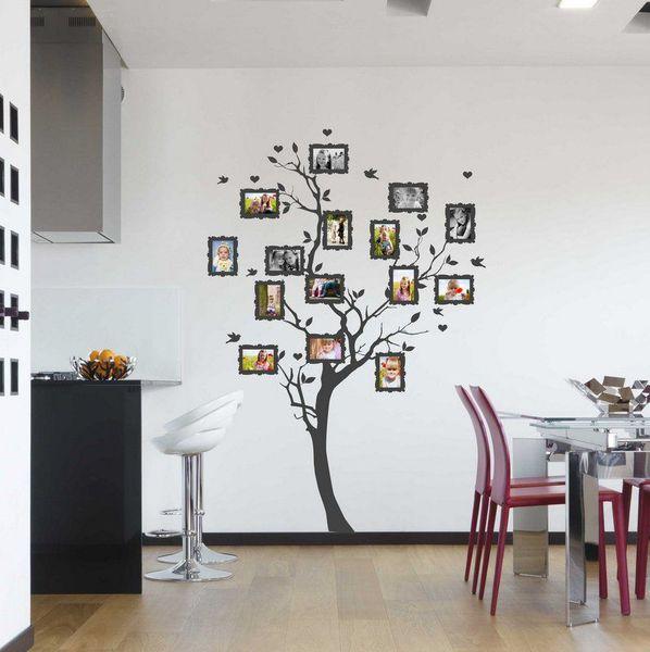 modelo árbol genealógico original con fotos