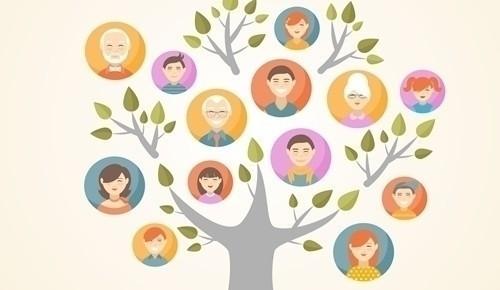 árbol genealógico para niños tercer grado