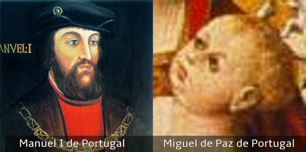 manuel I de portugal y miguel de paz
