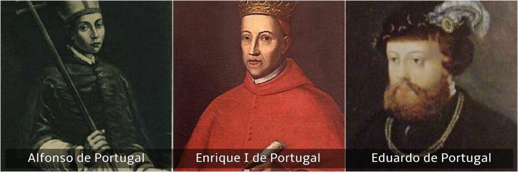 reyes católicos alfonso enrique y eduardo de portugal
