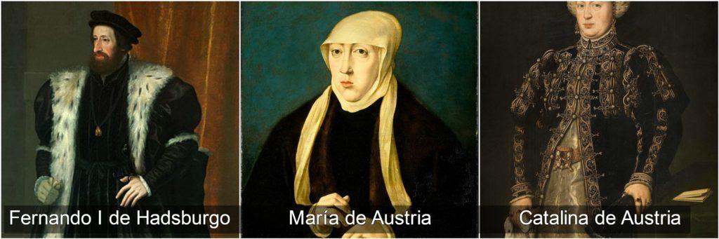 fernando I maría y catalina de austria reyes católicos