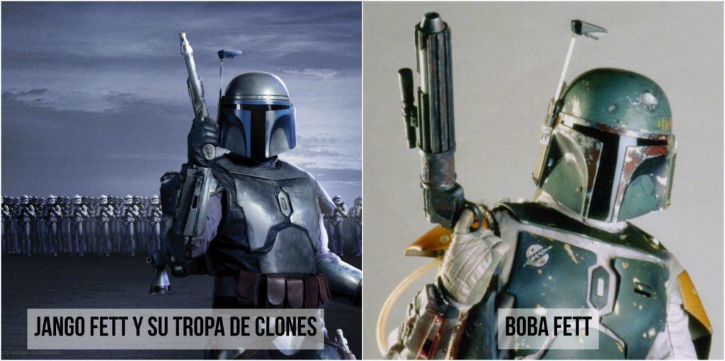 star wars jango fett tropa de clones y boba fett