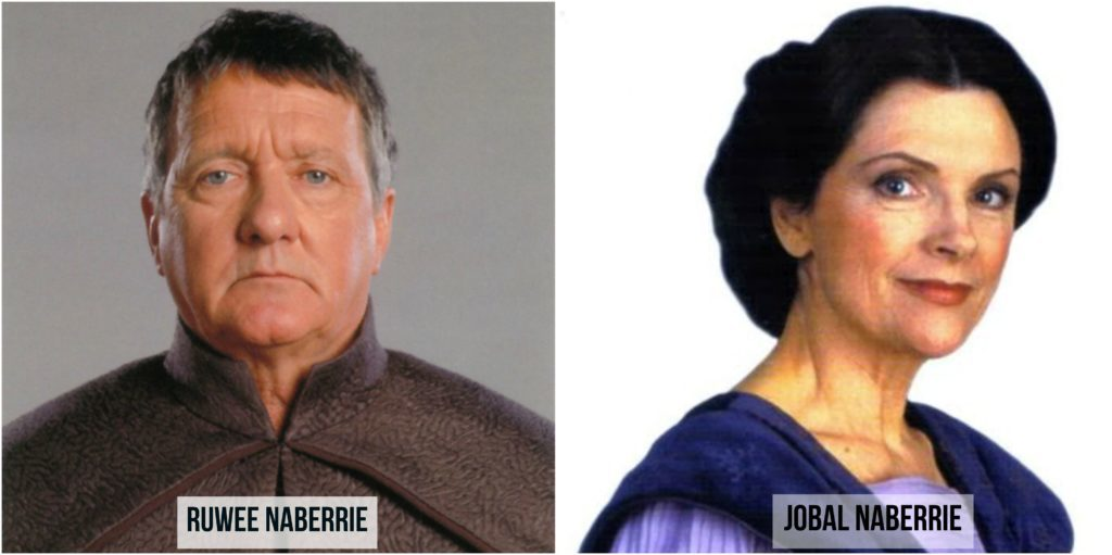 star wars ruwee y jobal naberrie