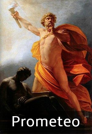 prometeo dios griego
