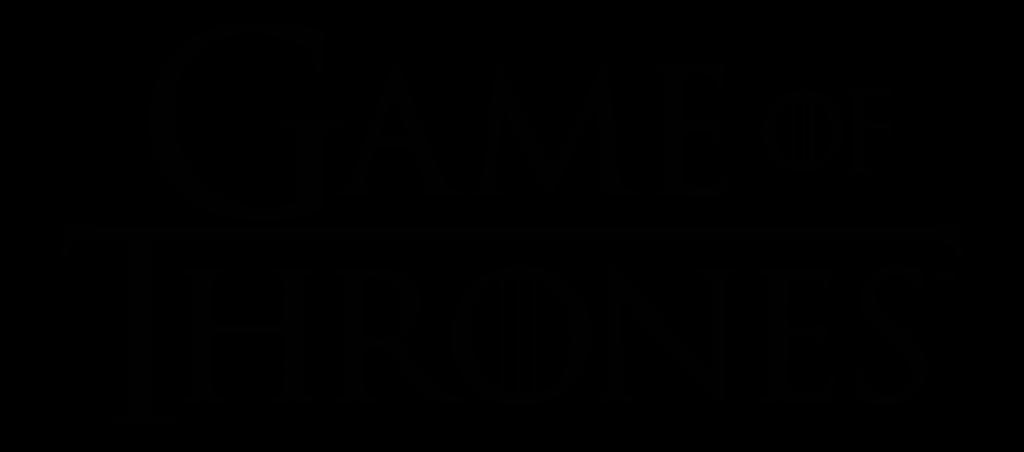logo oficial juego de tronos