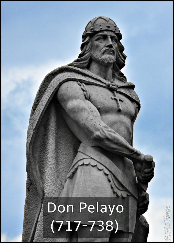 don pelayo rey de españa