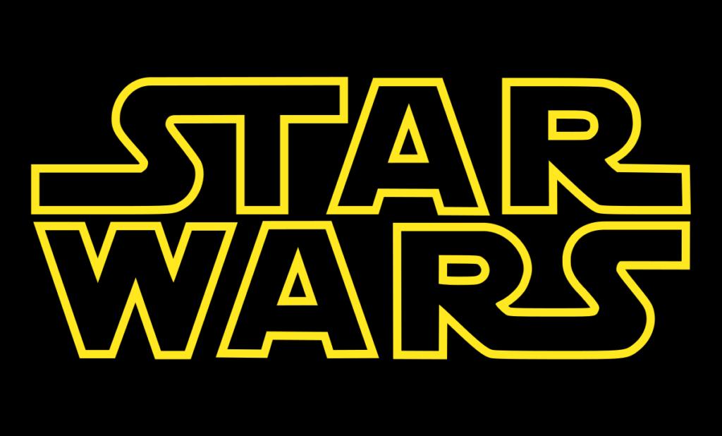 logo oficial películas star wars